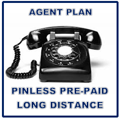 Agent Plan Pinless Prepaid Long Distance