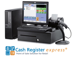 Cash Register Express Point of Sale Solution for Retail